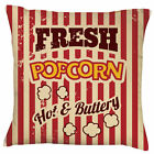 Popcorn Cushion |  Cushion | Personalise | Cool | Retro | Cinema Gift
