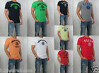 NWT Abercrombie & Fitch A&F Men Muscle Fit Jay Range Embroidered Tee T Shirt