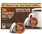 San Francisco Bay Coffee One Cup for K-Cup Brewers, PICK ANY FLAVOR 12-160 Count