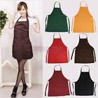 2PCS Polyester Material Restaurant Kitchen Working Aprons Multicolor Available
