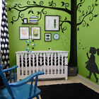 Big Full Tree Wall Decal Sticker - as Family Tree for Photo Hanging