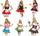 Sexy German Dutch Beer Girl Adult Costume Halloween Fancy Dress Up Cosplay HOT