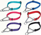 MARTINGALE DOG TRAINING COLLAR Guardian Gear Nylon Chain All Sizes & Colors NEW
