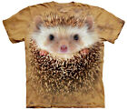 Big Face Hedgehog Adult  Animals Unisex T Shirt The Mountain
