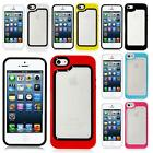 DUAL DESIGN HYBRID HARD STYLISH PROTECTION CASE COVER FOR APPLE IPHONE 5S 5 5G