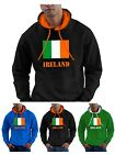 Ireland Sweat Shirt Hoodie Irish Flag St Patricks Day Mens Ladies Hooded Top