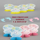 NEW Baby Shower BOY / GIRL Christening Party 4 x Honeycomb Table Decorations 5*