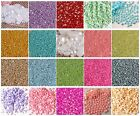1000 pcs 20 color Flat Back Round Resin Pearls (Not Acrylic)  Beads 2,3,4,5,6MM