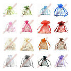 50 pcs Organza Wedding Bridal/Baby Shower Party Favor Jewlery Pouch Gift Bag