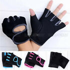 Gym Fitness Workout Cycling Driving Hunting Half Mitt Weight Lifting Safe Gloves