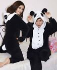 NEW Unisex Adult Pajamas Kigurumi Cosplay Costume Animal Onesie Sleepwear Panda