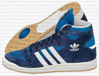 ADIDAS DECADE MID TRAINERS UK SIZE 8 MENS BLUE HI TOP RRP £129.99
