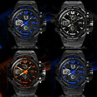 New Hot Sale Fashion Boy's/Men's LED Dual Display Sports Wrist Watch Watches