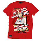 "Official Marc Marquez 93 ""Rookie Del Ano"" Moto GP Champion T-Shirt Red"