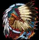 Native American Indian Chief Tee T-Shirt New image