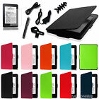 For All-New Kindle Paperwhite Lightweight Leather Smart Case Cover 7in1 Bundles