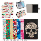 Cute Color Magnetic PU Leather Flip Stand Case Cover For iPad mini 1 2 3 Retina