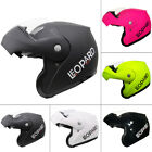 LEOPARD Flip Up Front Modular Scooter Motorbike Helmet Motorcycle Crash Helmet
