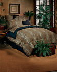 Bed in a Bag Leopard Animal Print Comforter & Sheet Set Included