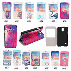Fashion Design PU Stand Flip Full Body Case Cover For Samsung Galaxy S5 V i9600