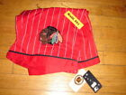Chicago BLACK HAWKS Shorts OVERALL Vintage Starter Jacket Satin NHL BNWT VTG B