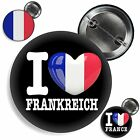 Button FRANKREICH Pin Anstecker France Badge Fan