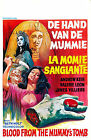 BLOOD FROM A MUMMYS TOMB Movie POSTER Horror 80's VHS Art