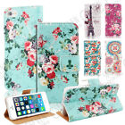 VINTAGE FLORAL WALLET PU LEATHER FLIP STAND CASE COVER FOR IPHONE 4G 4S 5G 5S 5C