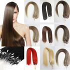"full head REMY 100S 20""22""24""26"" LOOP/MICRO RING 100% HUMAN HAIR EXTENSIONS uk"