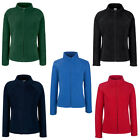 New Fruit of the Loom Womens Ladies Fitted Zip Fleece Jacket 5 Colours S - XXL