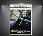 2001: A Space Odyssey Vintage Movie Poster - A1, A2, A3, A4 available