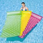 BESTWAY INFLATABLE FLOAT'N ROLL AIR MAT  LILO (44020) - PINK, GREEN, BLUE
