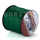 Spider 100M-2000M 10LB-300LB Moss Green 100%PE Dyneema Braided Fishing line