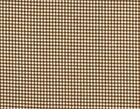 French Country Gingham Check Suede Brown Medium Tootsie Roll