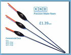 KND COMMERCIAL CLASSIC CARP POLE FLOAT GREAT AL-ROUNDER 3 SIZES 4x12, 4x14, 4x16