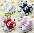 Infant Toddler Baby Boy Girl Soft Sole Crib Shoes Sneaker Newborn to18Months/B9