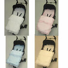 BEAUTIFUL FRILLY BRODERIE ANGLAISE FOOTMUFF/ COSY TOES BRITAX B-SMART AGILE DUAL