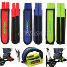1 Pair Road Bike Bicycle Fixed Gear Cycling Double Velcro Pedal Toe Straps New