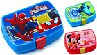 Sandwich Lunch Clip Box  Spiderman, Monsters University, Minnie Mouse