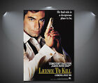 James Bond 007 Licence to Kill Vintage Movie Poster - A1, A2, A3, A4 £7.9 GBP