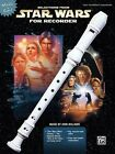 Selections from Star Wars for Recorder Book Only Recorder Book NEW 000322024