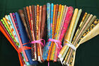 Bundles Fabric.9 Fat Quarters in Each Bundle. QUILTING, BUNTING,CRAFTS, PROJECTS