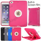 For iPad mini Impact Heavy Duty Case Cover (Shield Stand Fit Otterbox Defender)