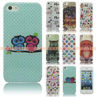 For iphone4 4S 5 5S Fashion Design Soft TPU Case Silicone Skin Back Rubber Cover