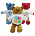 """PERSONALISED 7"""" TEDDY BEAR GIFT YOUR DESIGN PHOTO TEXT PRINTED"""