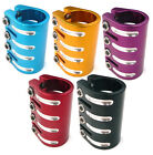 Scooter Quad Clamp Cool Anodised Colours 31.8mm Fits Standard Bars
