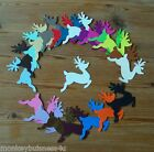 8 - Christmas Die Cuts - small Reindeer - Christmas - Topper - Kids - Cards