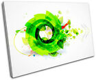 Funky Cool Design Abstract SINGLE CANVAS WALL ART Picture Print VA