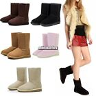New Fashion Winter Women Mid Calf Warm Snow Boots Shoes 5 Colors 5 Sizes ONM