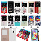 Auto Sleep S-view Battery Back Cover Flip Smart Case For Samsung Galaxy S5 i9600